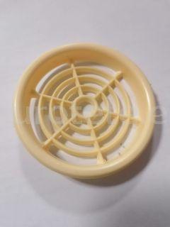 Rejilla 6.5 cm beig redonda para ventilacion 1
