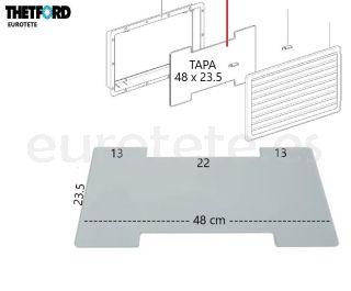 Tapa-Thetford-63115080-N3141-N3142-invierno-257-432-frigorifico-SR-vent-cover autocaravana-nevera-recambio-1