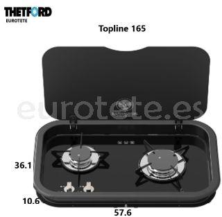 Thetford Topline 165 placa cocina 2 fuegos