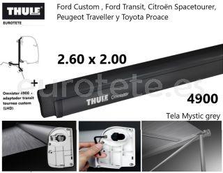 Thule-Omnistor-4900-Ford-Transit-Tourneo-Custom -Awning-2.60-x-2.00-furgoneta-camper-1