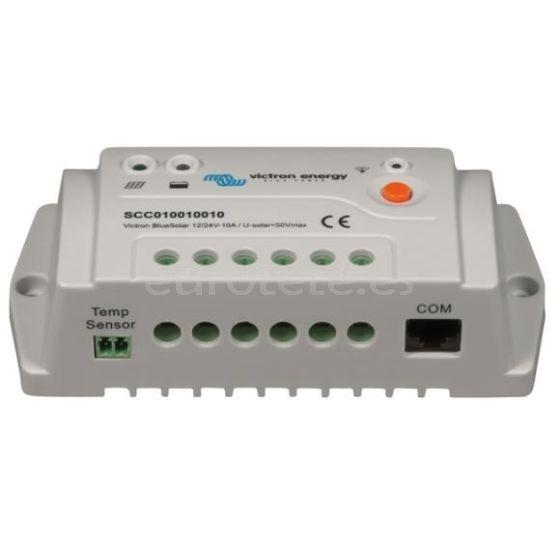 Regulador de carga PWM PRO 10A 12/24 Volt Victron bluesolar