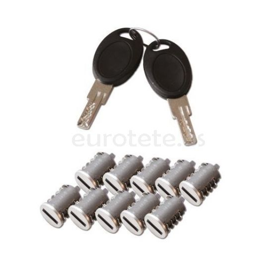 Bombines HSC 10 bombines con 2 llaves para cierre puerta seguridad autocaravana 1