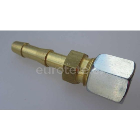 Racor hermeto 8 mm a manguera de gas para barbacoa autocaravana 1