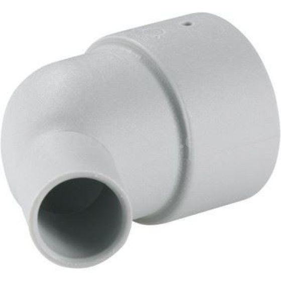 Truma terminacion en codo para calefacción 35 mm Aria