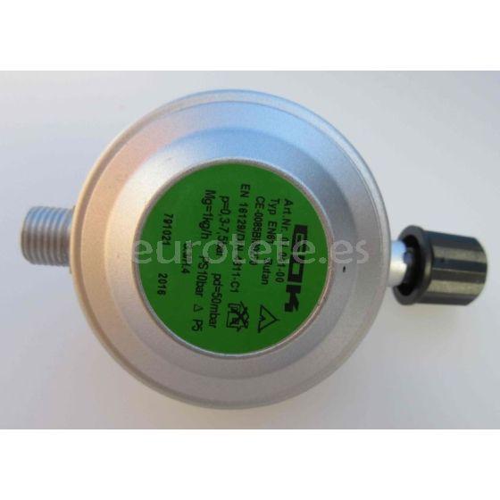 Regulador gas de presión para la válvula de cierre Gok 1