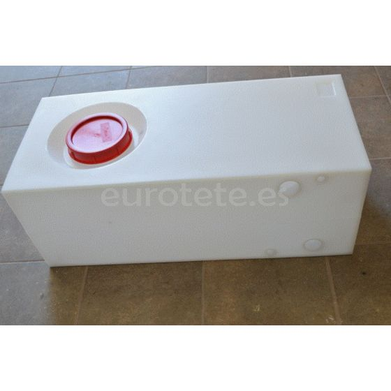 Deposito 68 litros 28 x 33 x 74 aguas residuales furgoneta camper 1