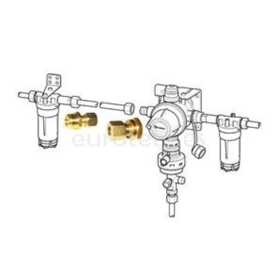Truma conexiones para DuoControl, DuoComfort y filtros de gas 50020-61100 autocaravana 1