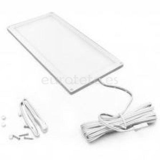 Plafon led rectangular 30 x 10 cm blanco de 12 voltios