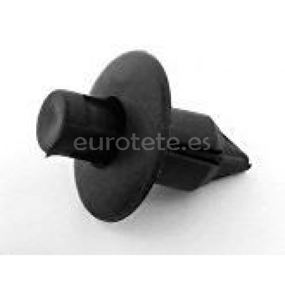 Grapa remache de plastico negro para autocaravana 2