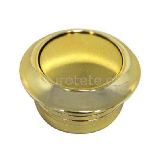 Boton dorado enroscado con anillo para cierre puerta o armario cajetin falleba autocaravana o caravana 1