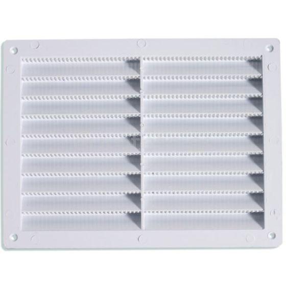 Rejilla 20 cm x 15 cm aireador ventilacion en color crema autocaravana 1