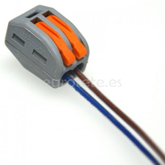 Regleta Wago 2 empalme cable electricidad 1
